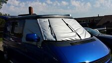 VW T4 California Transporter Caravelle Thermal Windscreen Cover - Colour Silver