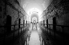 Framed Print - Grim Halls of a Deserted Prison (Picture Poster Art Jail Alcatraz