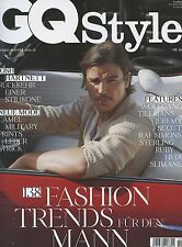 GQ Style Germany Magazine Autumn/Winter 2014-15 fashion men JOSH HARTNETT