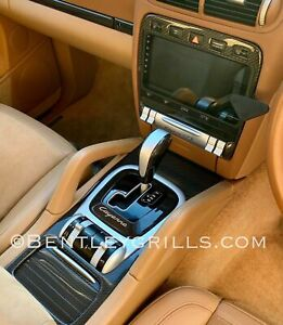 Porsche Cayenne Carbon Fiber Shift Surround Trim, Genuine Carbon Fiber Cayenne