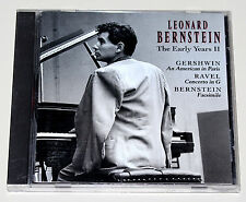 LEONARD BERNSTEIN - THE EARLY YEARS II 2 - GERSHWIN RAVEL - RCA VICTOR GOLD SEAL