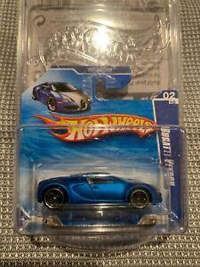 Hot Wheels Bugatti Veyron VERY RARE Short Card