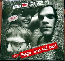 BONGOS, BASS & BOB/Penn Jillette // Never Mind Sex Pistols/ 1988 US 2LPs // NEW!