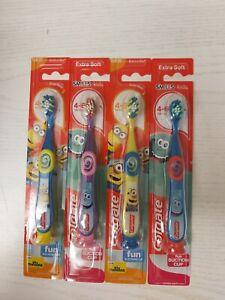3 x Colgate Smiles Toddler Toothbrush 4-6 Years