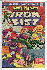 Marvel Premiere #18 - Iron First! - 1974 (Grade 6.0)