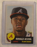 Topps Living Set Card #19 Ronald Acuna Atlanta Braves Rookie Card RC