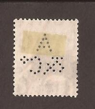 """GB George V, con Perfin """"a & C"""" 2 X Escanea"""