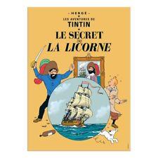 Affiche Offset Tintin Le secret de la Licorne