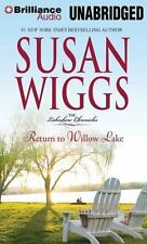 The Lakeshore Chronicles: Return to Willow Lake 9 by Susan Wiggs (2012, MP3 CD,
