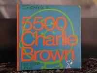 5500 CHARLIE BROWN CHARLES M.SCHULZ GARZANTI LINUS 1971 ARTBOOK by PN