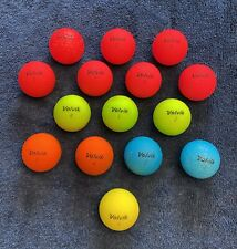 New listing 15 VOLVIK VIVID Golf Balls Used Grade AAAAA 5A Matte Finish All; No Marks Logos.