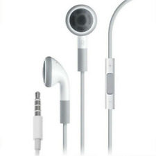 CERTIFIED APPLE MB770G EARBUD IN-EARHEADPHONES WITH REMOTE, MIC & VOLUME - WHITE
