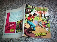 ZAGOR ZENITH N.168 ORIGINALE OTTIMO TIPO TEX MARK ARALDO RANGER FORD