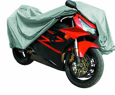 MOTORCYCLE MotorBike COVER Waterproof Rain Dust PROTECTOR by Qtech - XL