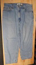 #2 Levi's 560 Blue Denim Jeans COMFORT FIT Mens 38 X 30 (actual 37 X 28) Red Tab