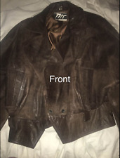 Faux Leather H and M Peplum Jacket polusther