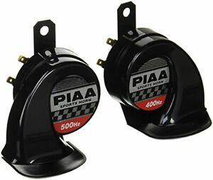 PIAA HO-2 Sports Horn Light Weight Super Horn 400Hz/500Hz 112dB Black HO-2 New