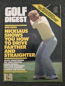 Golf - Jack Nicklaus - 1981 Golf Digest Magazine - Complete