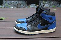 Nike Air Jordan 1 Retro + 2001 Royal Blue 136066 041 Size 13 Bred Shadow I Lot