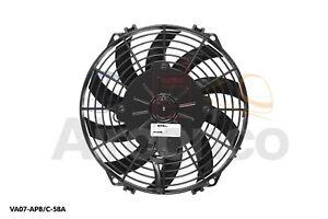 "Spal Axial Fan, VA07-AP8/C-58A, 12v (Pull) 9.0"" (225mm) - Genuine Product!"