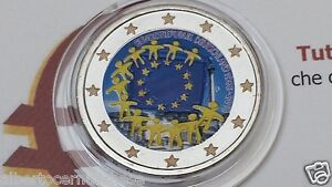2 euro 2015 GERMANIA color farbe couleur Allemagne Alemania Deutschland Germany