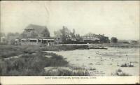 Sound Beach CT East Side Cottages c1910 Postcard