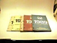1984-89 PPG ditzler corporate color chip information manual vtg 86 missing VGC
