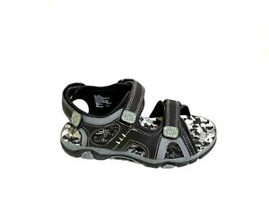 New Boys Youth Sonoma Sport Sandal Style 99042 Black/Lime/Charcoal 110N am