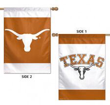 "University of Texas Longhorn 2 Sided House Flag NCAA Licensed 28"" x 40"""