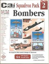 GMT GAMES - C3i Squadron Pack #2 BOMBERS DOWN IN FLAMES SERIES