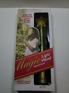 Gold Princess MAGIC LIGHT UP WAND Christmas Tree w/ Light SOUND Remote Control