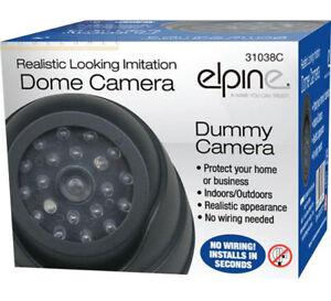 Dummy dome cctv camera elpine