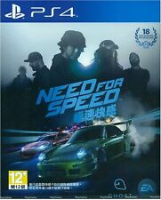 Need For Speed (English / Chi Ver) per PS4 Sony Playstation