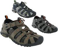 PDQ Sandals Closed Toe Toggle Strap Fastening Lightweight Mens Beach UK7-12