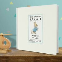 PERSONALISED Beatrix Potter Book Peter Rabbit Hopping into Life Book Gift Boxed