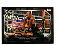 WWE Undertaker HHH CEM-12 2015 Topps Undisputed Black Parallel Card SN 71 of 99