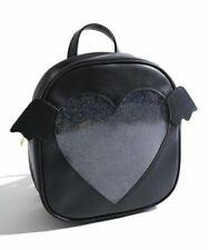ITA Amor Corazón Forma Mochila Escolar Bolsa Lindo Mujeres Niñas Moda Kawaii