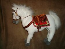 """Disney Store Rapunzel Tangled Horse Maximus Plush With wired legs 15"""" T x 15"""" L"""