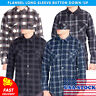 Visive Mens Flannel Shirt Long Sleeve Button Down Up Heavy Flannel Shirts