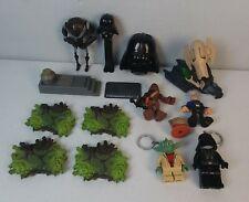 Star Wars Toy Lot LEGO Keychains Pez Imaginext Figure Stands Droid 1983 Ewok