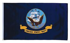 3 x 5 US Navy Anchor Ship Emblem 3x5 ft Perma Dye Nylon Flag House Banner