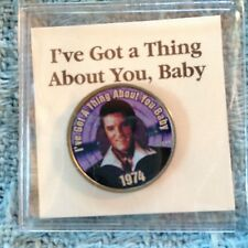 """NOS ELVIS MYSTIC COLORIZED QUARTER GREATEST """"I'VE GOT A THING ABOUT YOU BABY"""""""