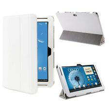 NEW! GreatShield - Tablet Leather Case for Samsung Galaxy Note 10.1 (White)