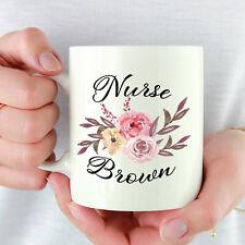 Nurse Coffee Mug Nurse Gifts Personalised Mug Gifts For Nurse Nurse Tea Cup Mug