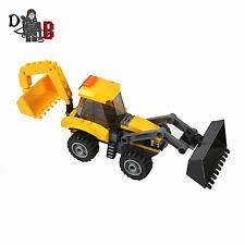 Custom LEGO City Backhoe Loader JCB digger similar from Heavy Haul Train 60098
