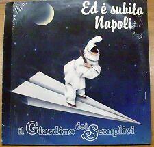 GIARDINO DEI SEMPLICI ED E' SUBITO NAPOLI LP + GADGET SEALED