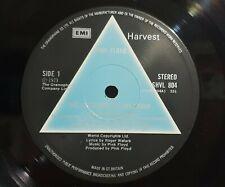 PINK FLOYD DARK SIDE OF THE MOON UK 1st A2B2 Blue Label EX+ VINYL & SLEEVE 1973