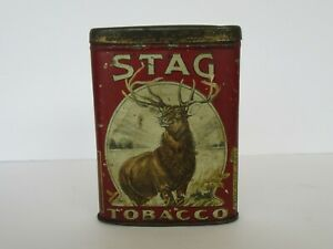 Vintage Stag Tobacco Tin, Lorillard Co.