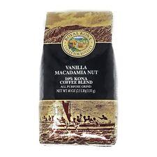Royal Kona Coffee Vanilla Mac Nut 10% Kona Coffee Ground 2.5 Pound Bag FREE SHIP