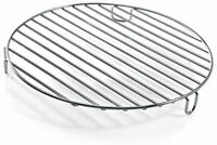 Grillrost Edelstahl Mikrowelle Backofen Grill 24cm Durchmesser ca. 3cm Hoch NEU